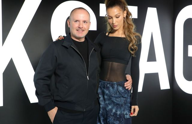 Peter Philips and Bella HadidDior Beauty Pop Up, Inside, Delilah, Los Angeles, USA - 08 May 2019