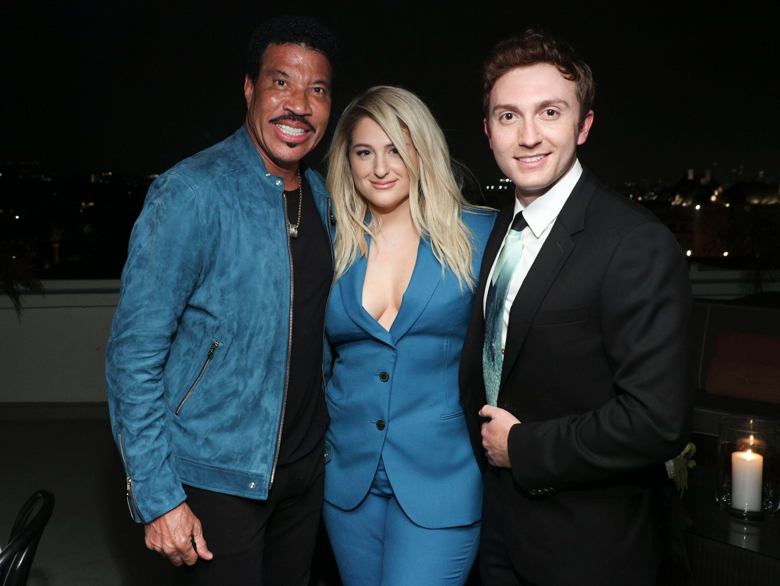 Lionel Richie, Meghan Trainor and Daryl SabaraPaul Smith honors John Legend, Cocktails, Chateau Marmont, Los Angeles, USA - 14 May 2019
