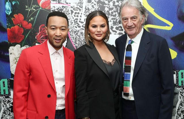 John Legend, Chrissy Teigen and Paul SmithPaul Smith honors John Legend, Cocktails, Chateau Marmont, Los Angeles, USA - 14 May 2019