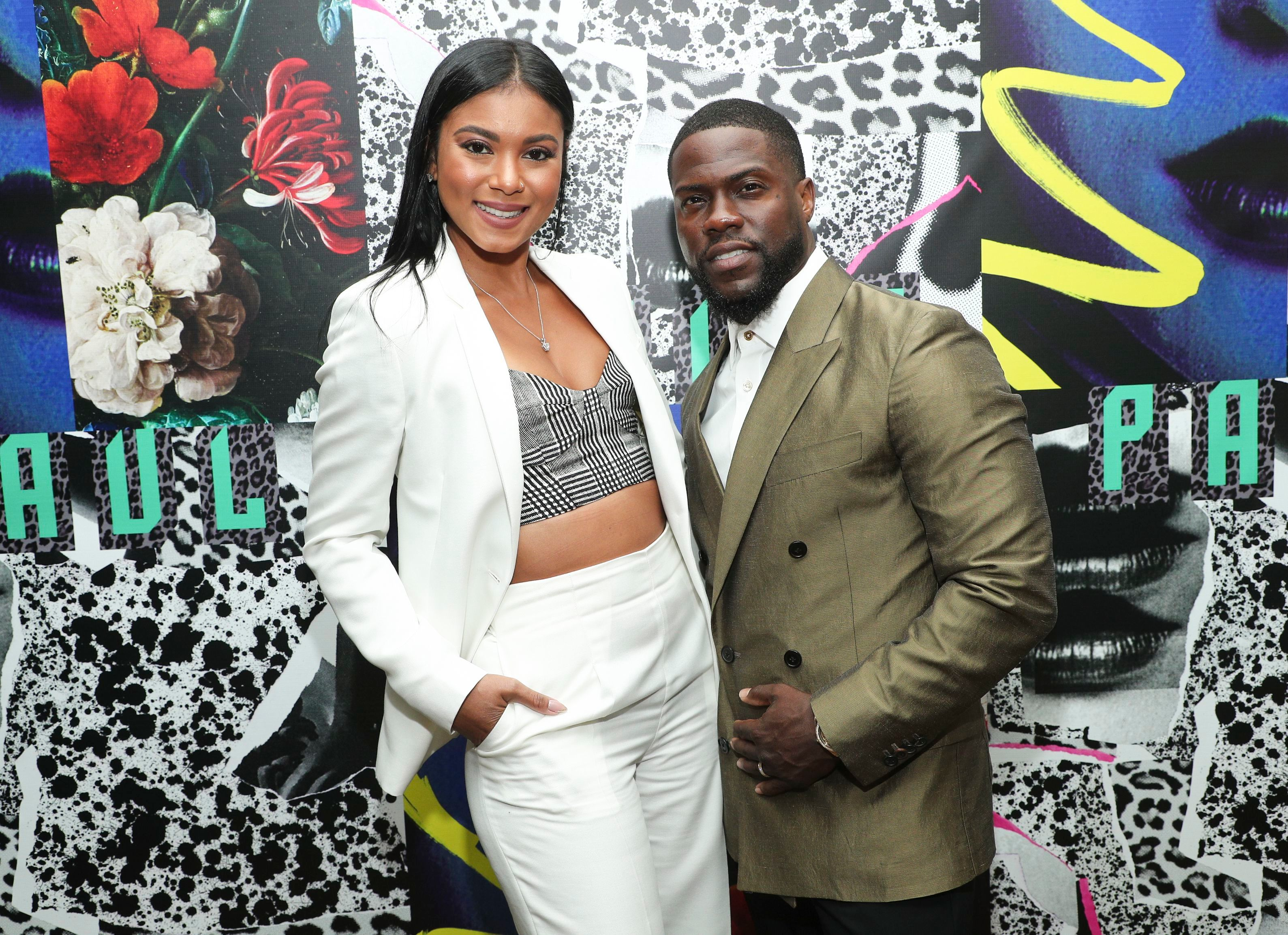 Eniko Parrish and Kevin HartPaul Smith honors John Legend, Cocktails, Chateau Marmont, Los Angeles, USA - 14 May 2019