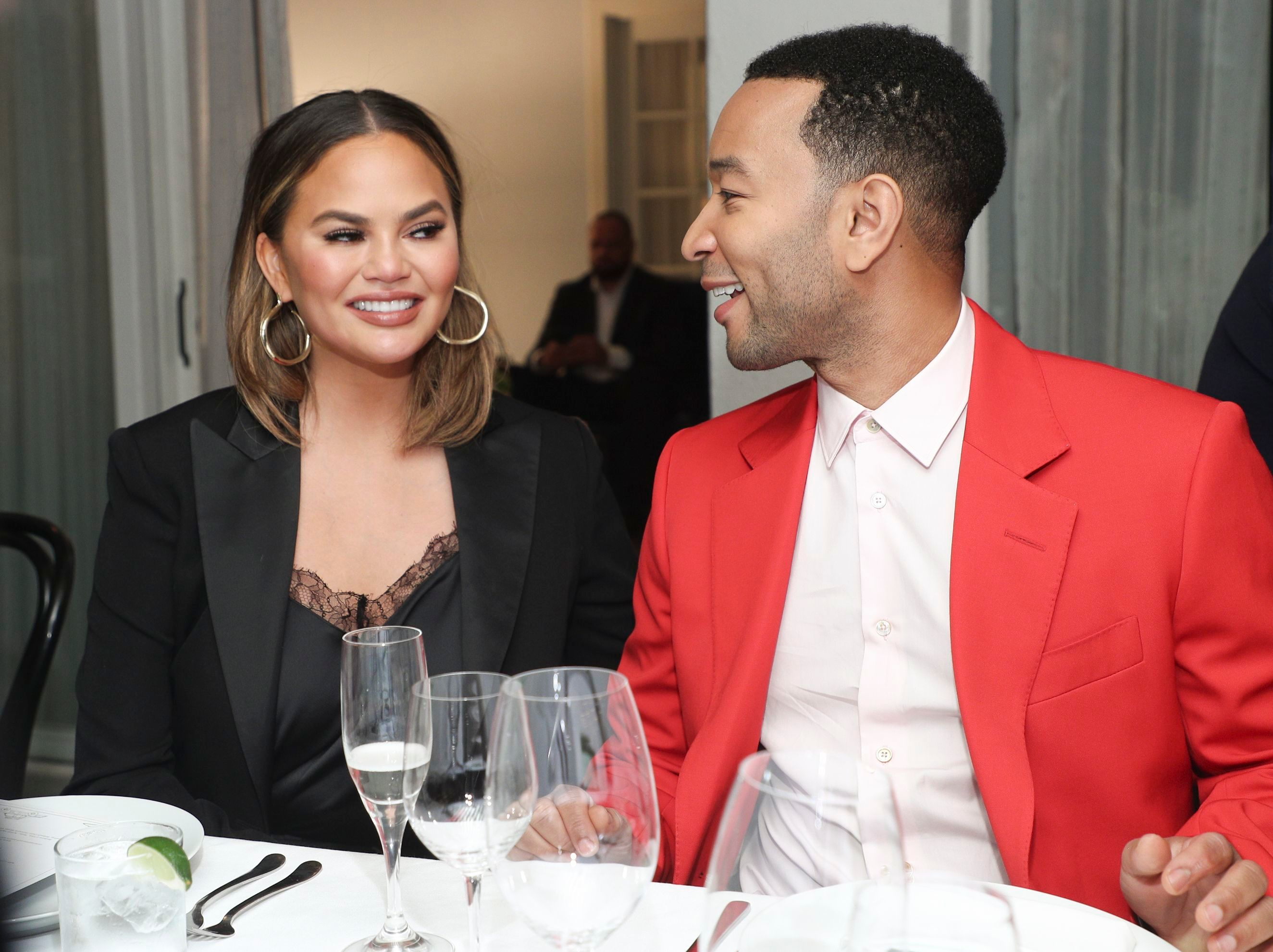 Chrissy Teigen and John LegendPaul Smith honors John Legend, Inside, Chateau Marmont, Los Angeles, USA - 14 May 2019