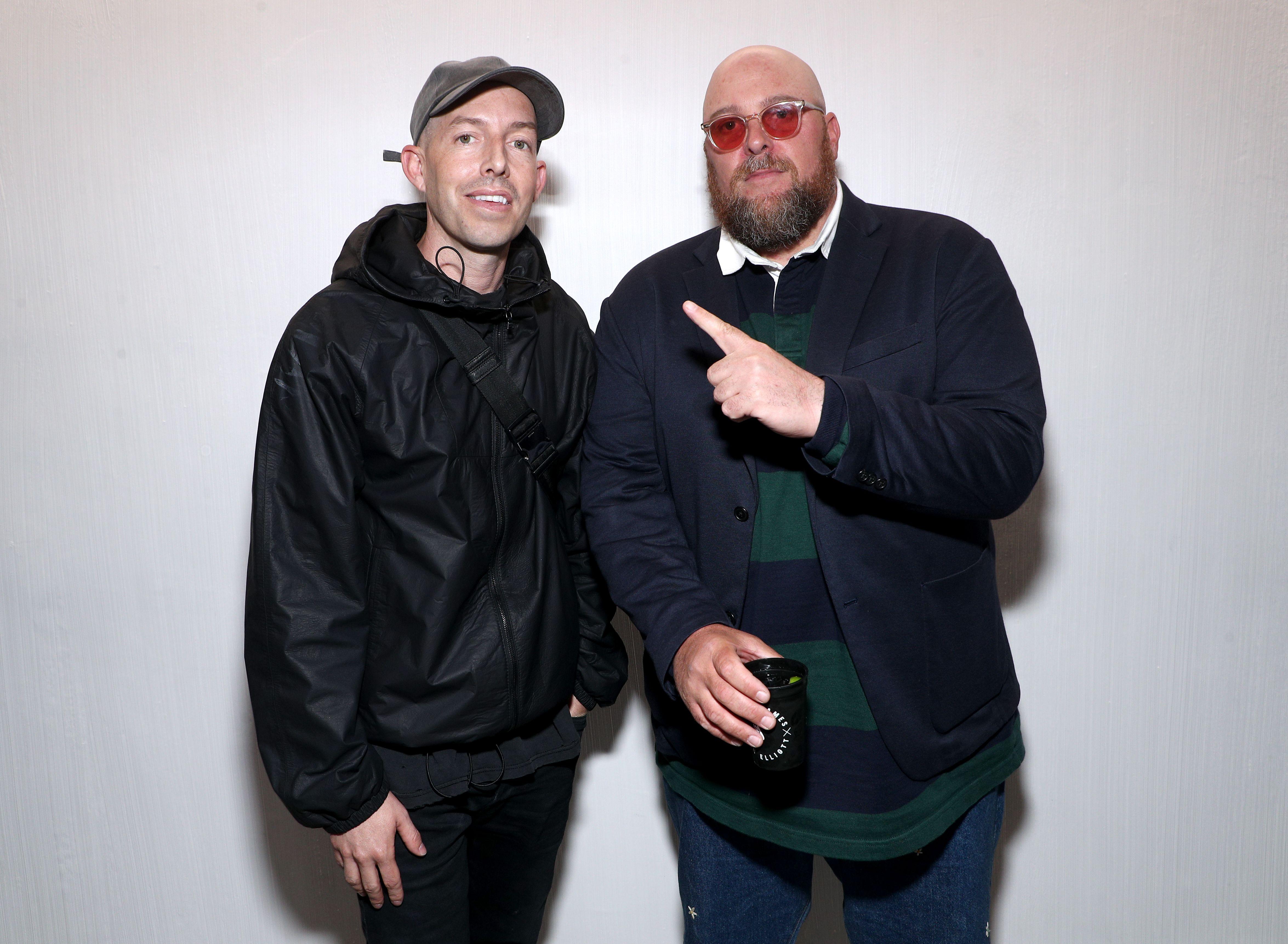 John Elliott and Jon BuscemiNike Lebron James x John Elliott Icon Celebration, Inside, Los Angeles, USA - 21 May 2019