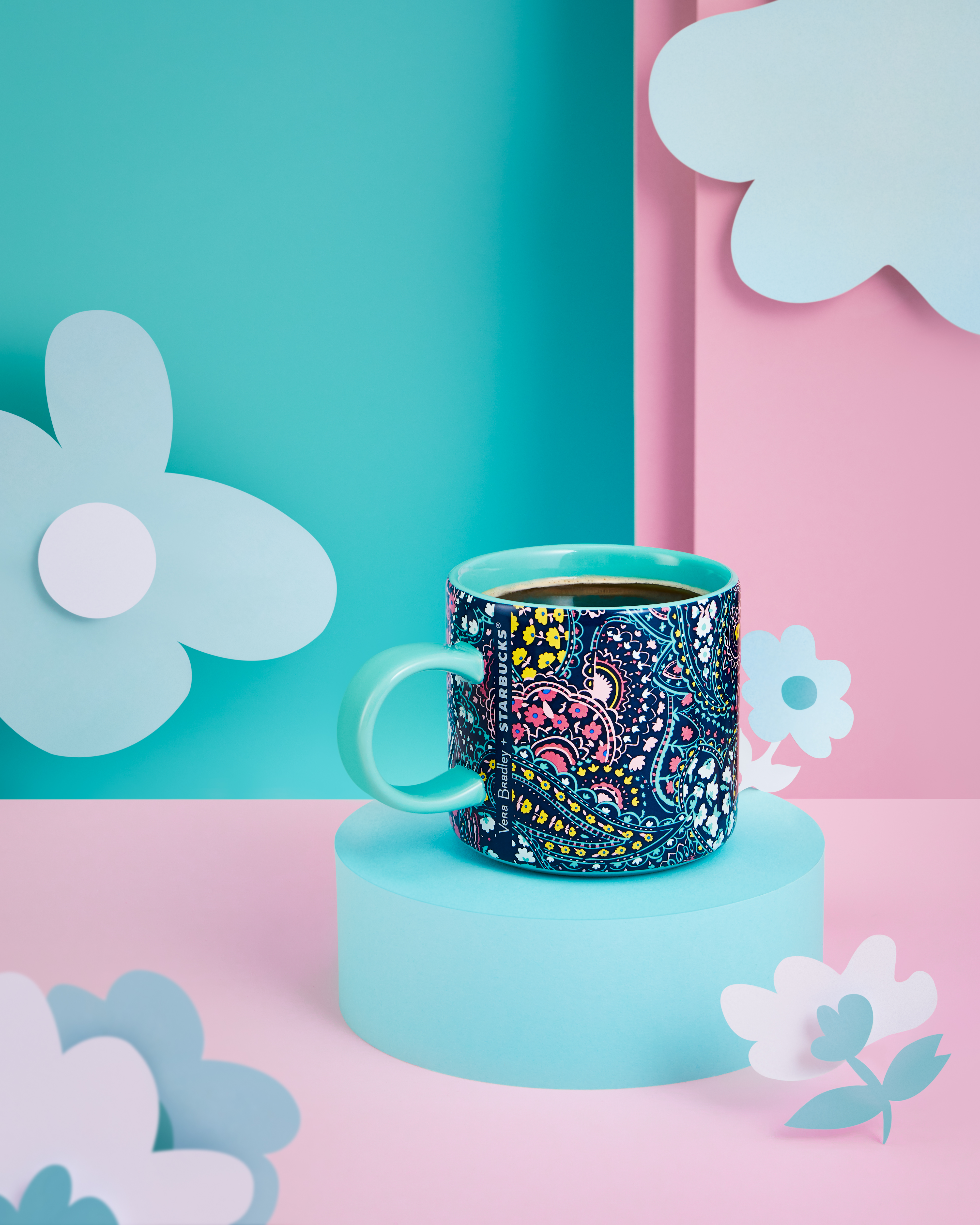 The Vera Bradley coffee mug for Starbucks in Asia.