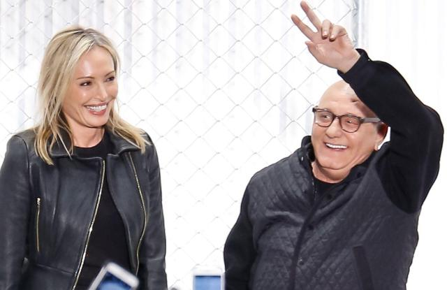 Lubov Azria and Max Azria on the catwalkHerve Leger show, Runway, Fall Winter 2016, New York Fashion Week, America - 13 Feb 2016