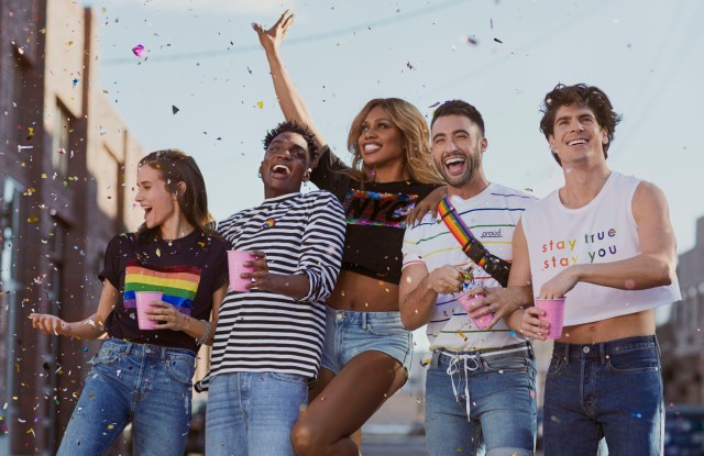 An image from H&M's new Pride campaign.