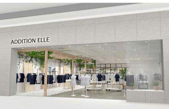 ADDITION ELLE's new Montreal flagship.
