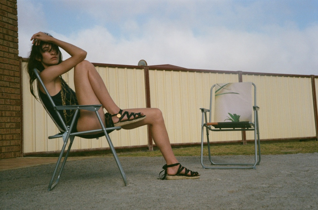 A visual from Alighieri's first footwear campaign