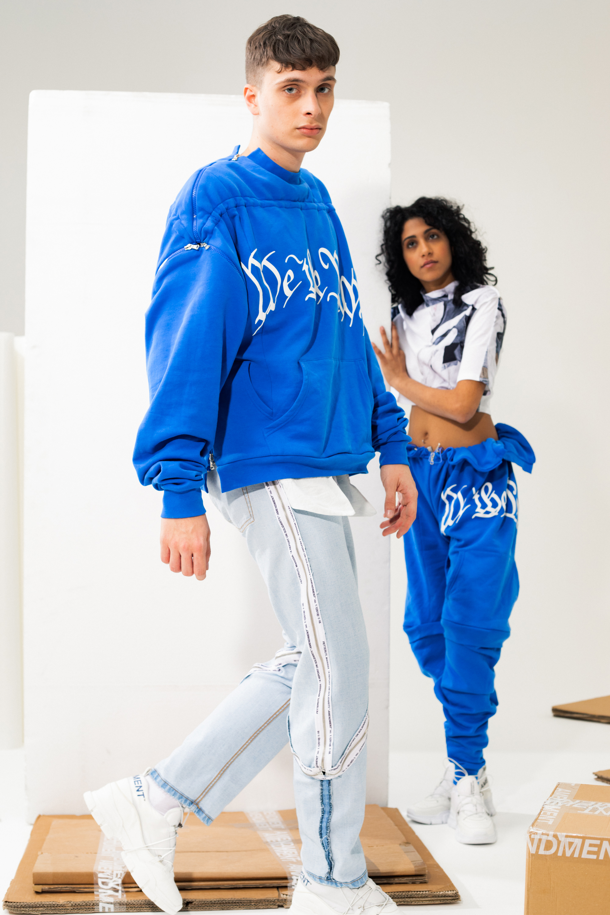 The Amendment x Yoox capsule collection.