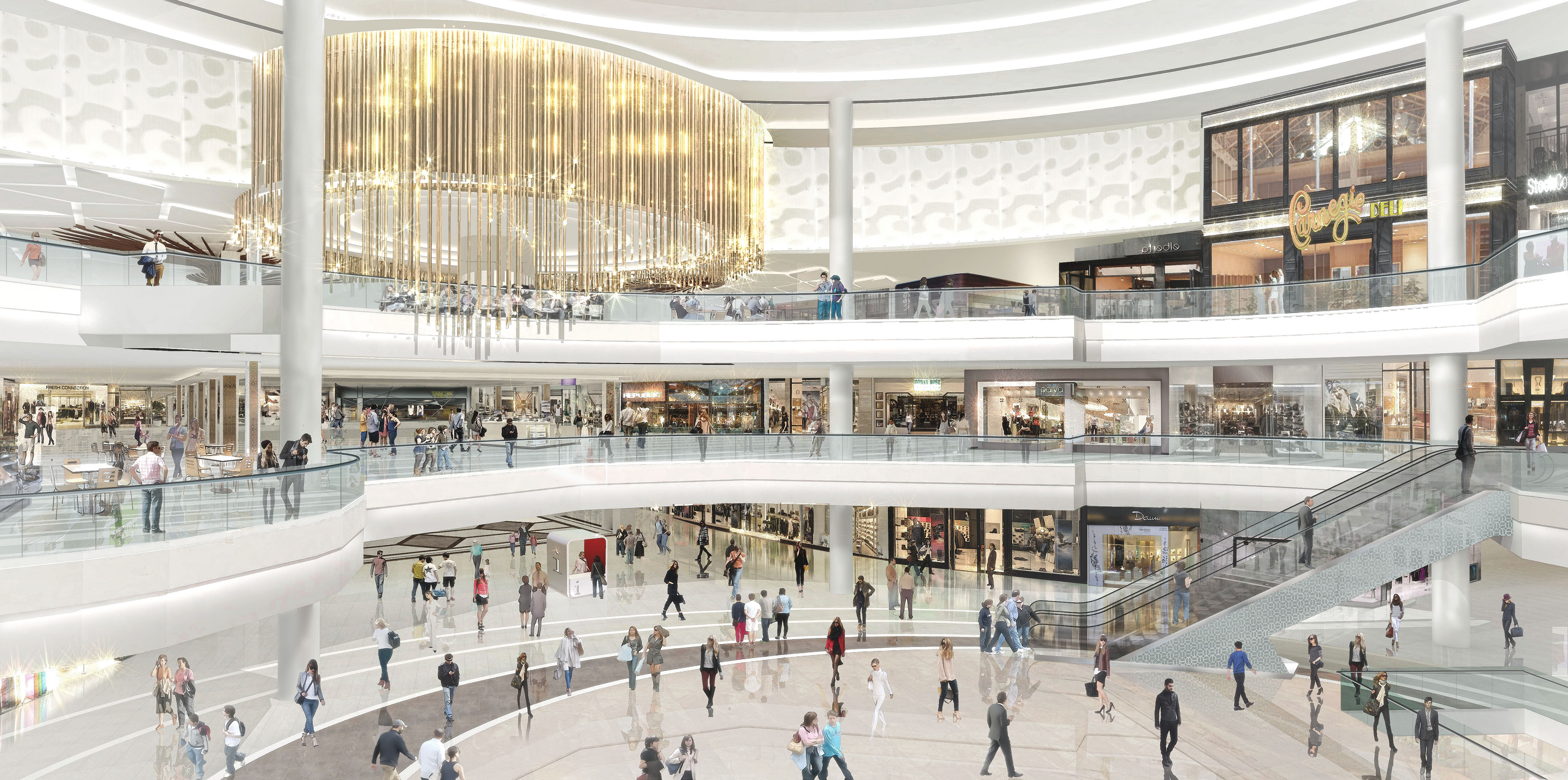 Triple Five Group is iterating on earlier properties, Mall of America and the West Edmonton Mall.