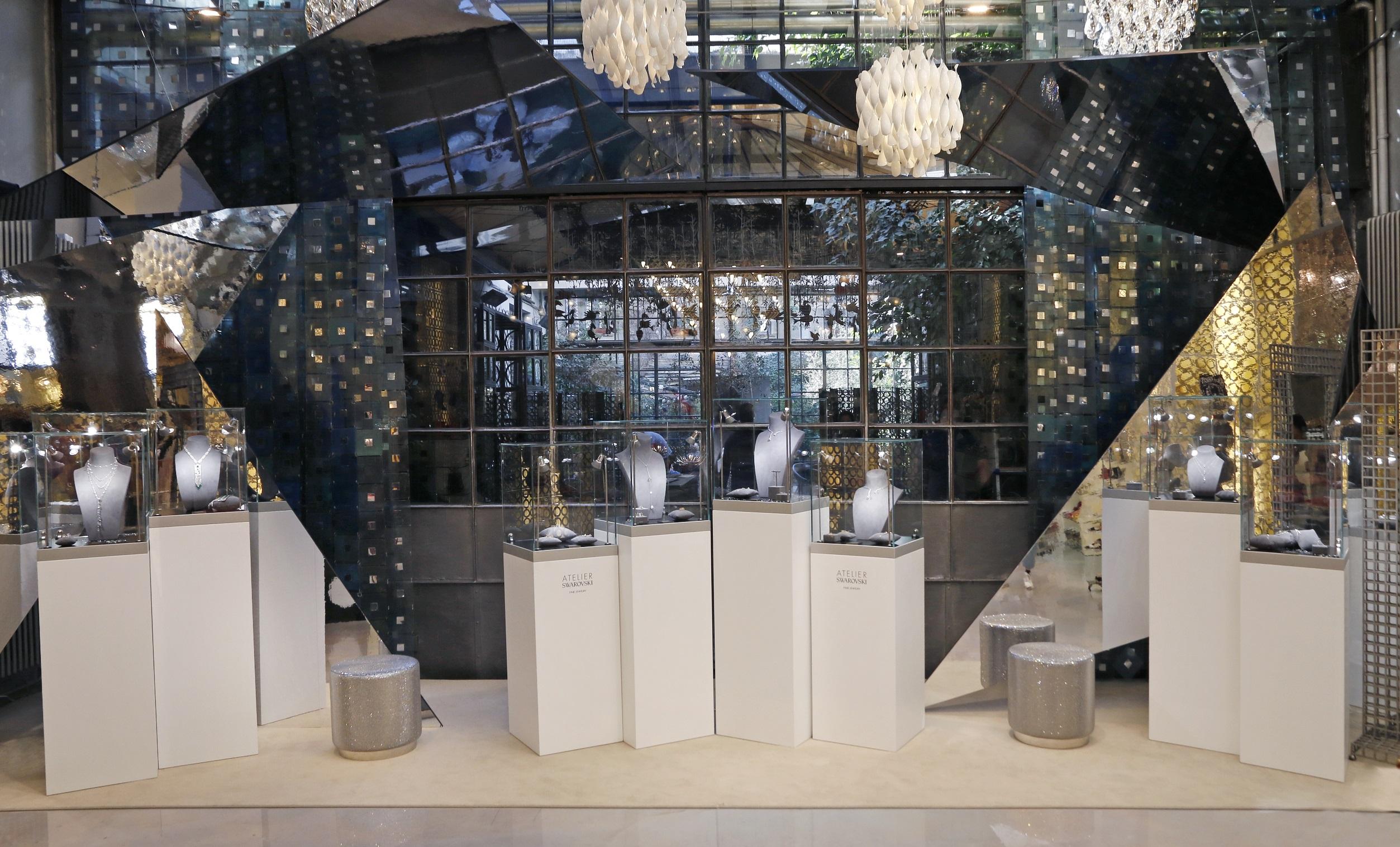 Atelier Swarovski's corner at 10 Corso Como