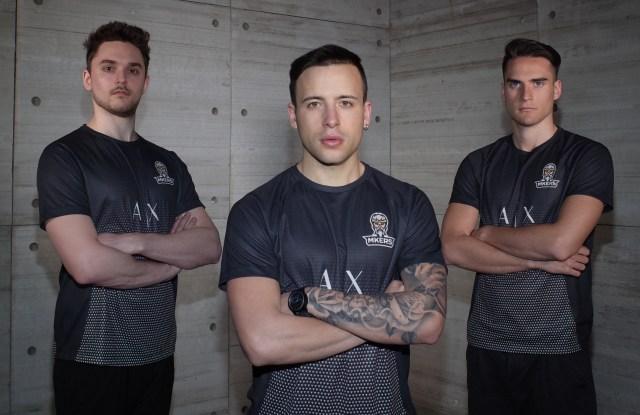 The Italian e-sports team Mkers.