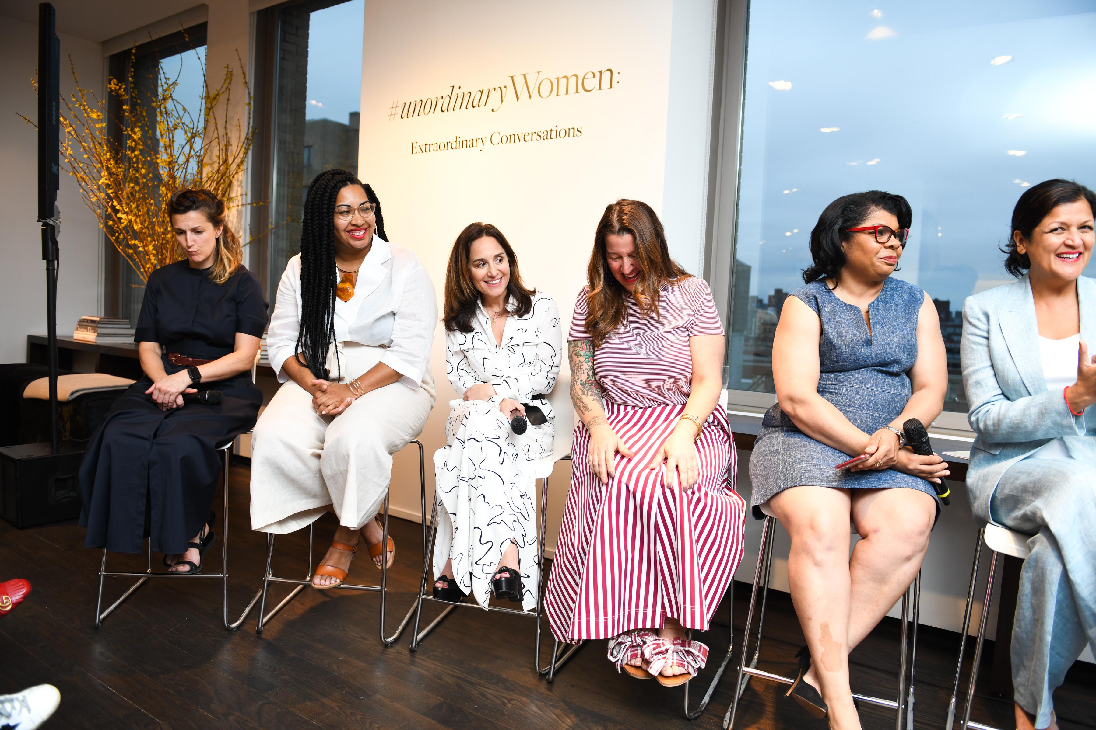Anjali Kumar, Catherine Levene, Marie Aude-Rose, Rachel Cargle, Lauri Freedman, April Ryan