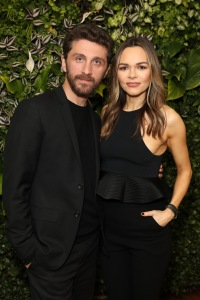 LONDON, ENGLAND - MAY 01: David Koma (L) and Maria Hatzistefanis attend the BFC/Vogue Designer Fashion Fund announcement lunch on May 01, 2019 in London, United Kingdom. (Photo by Darren Gerrish/WireImage for Vogue)