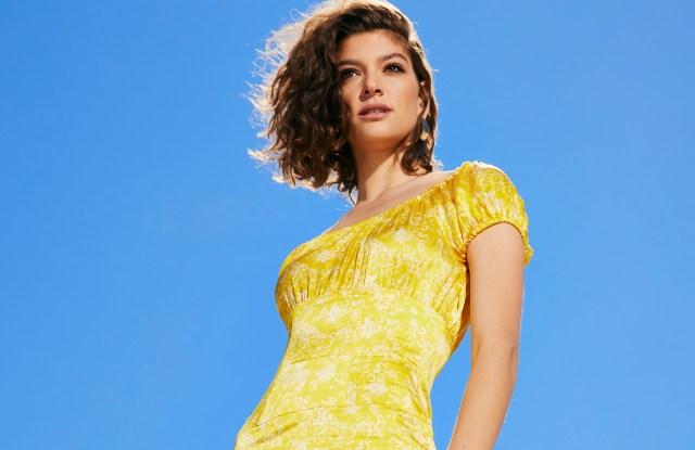 A look from Caroline Constas' capsule for Bergdorf Goodman.