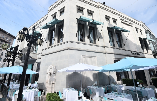 Tiffany Cafe on Rodeo Drive