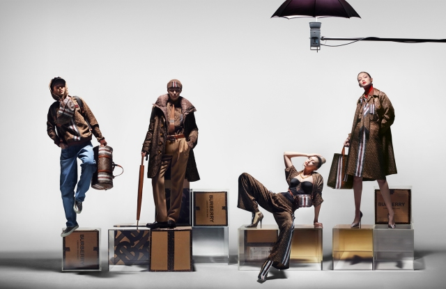 Burberry Unveils Monogram Collection Campaign