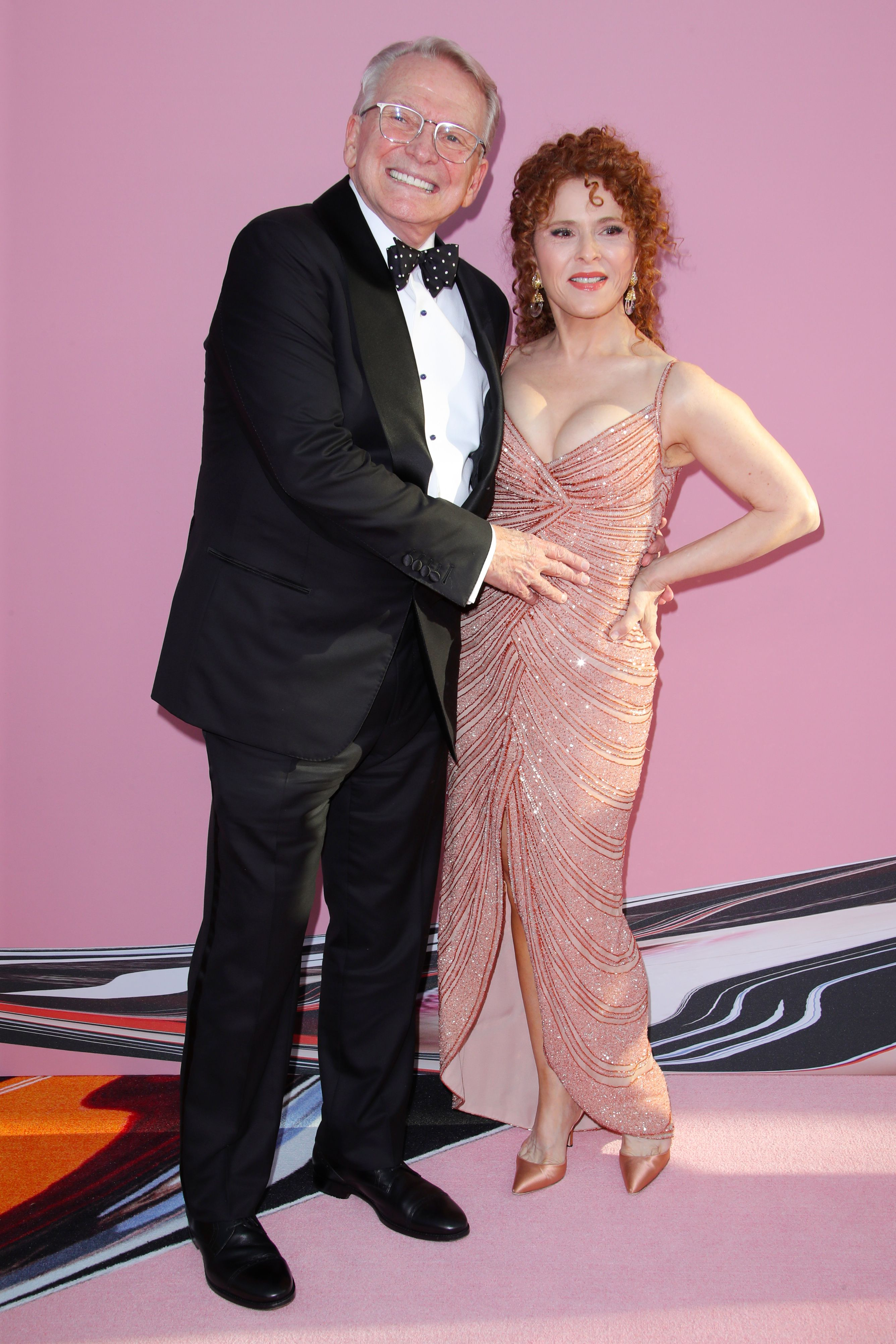 Bob Mackie and Bernadette Peters, CFDA Awards 2019