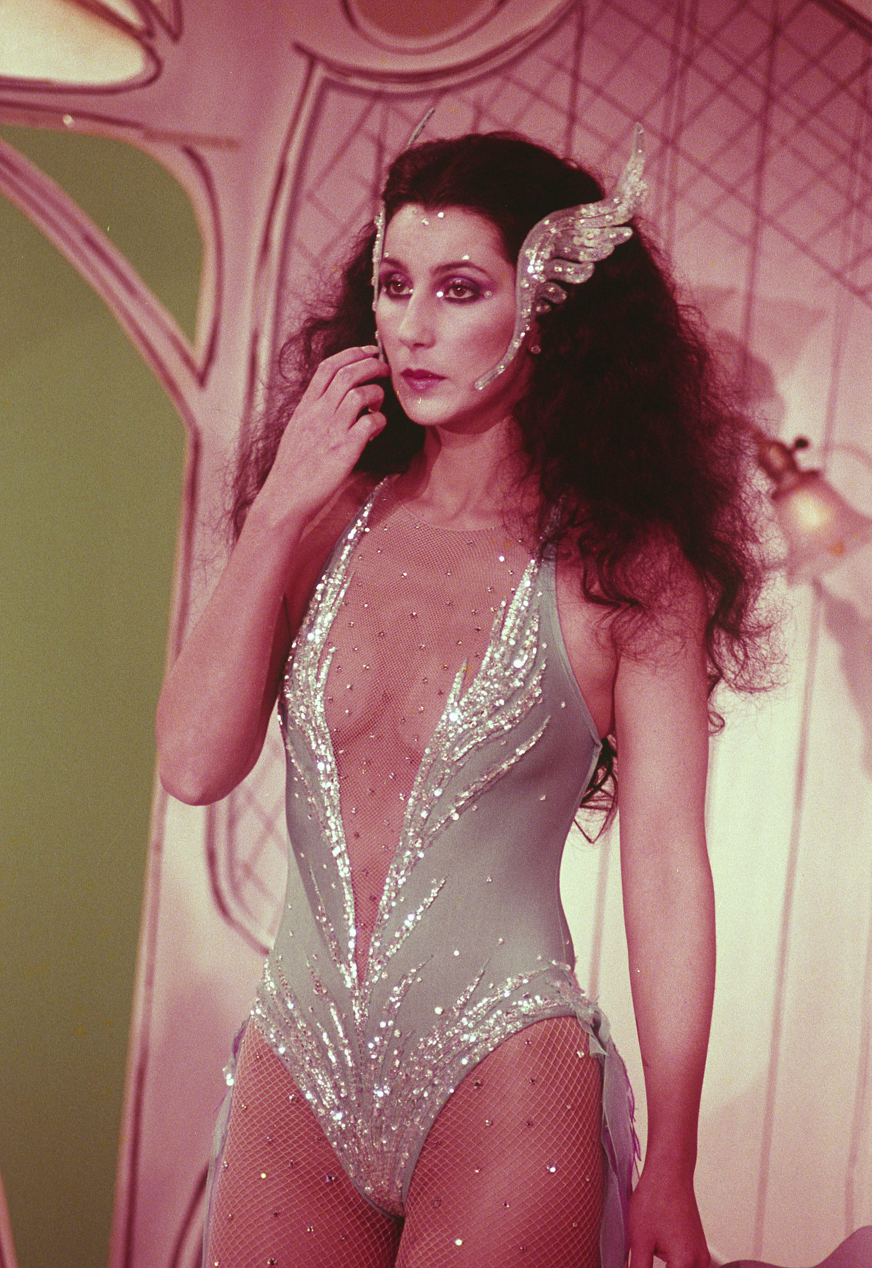 Cher Photographed by Nancy BarrCher-1980