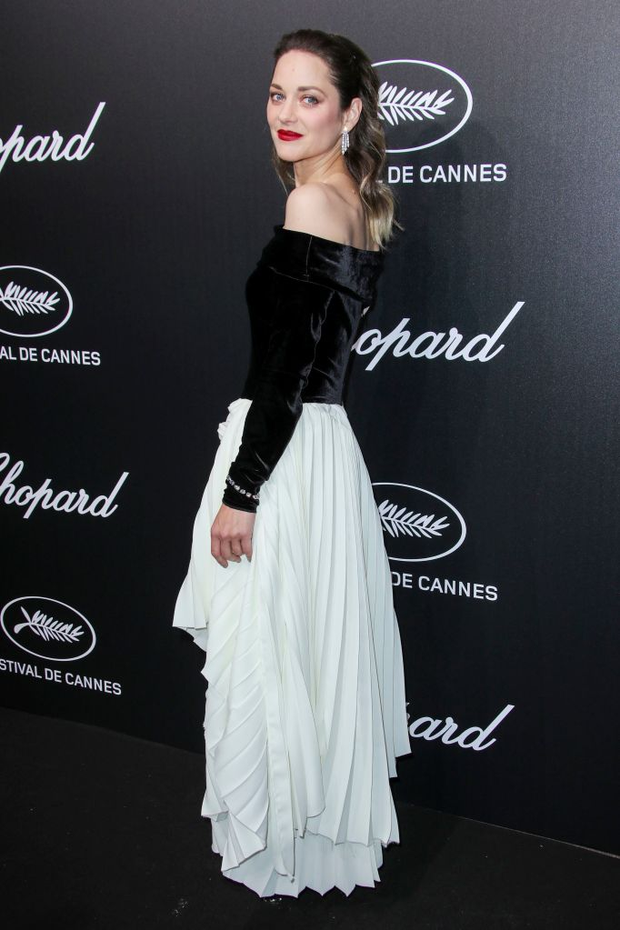 Marion CotillardChopard Trophee dinner, 72nd Cannes Film Festival, France - 20 May 2019 Wearing A.W.A.K.E. Mode Same Outfit as catwalk model *10107606ag