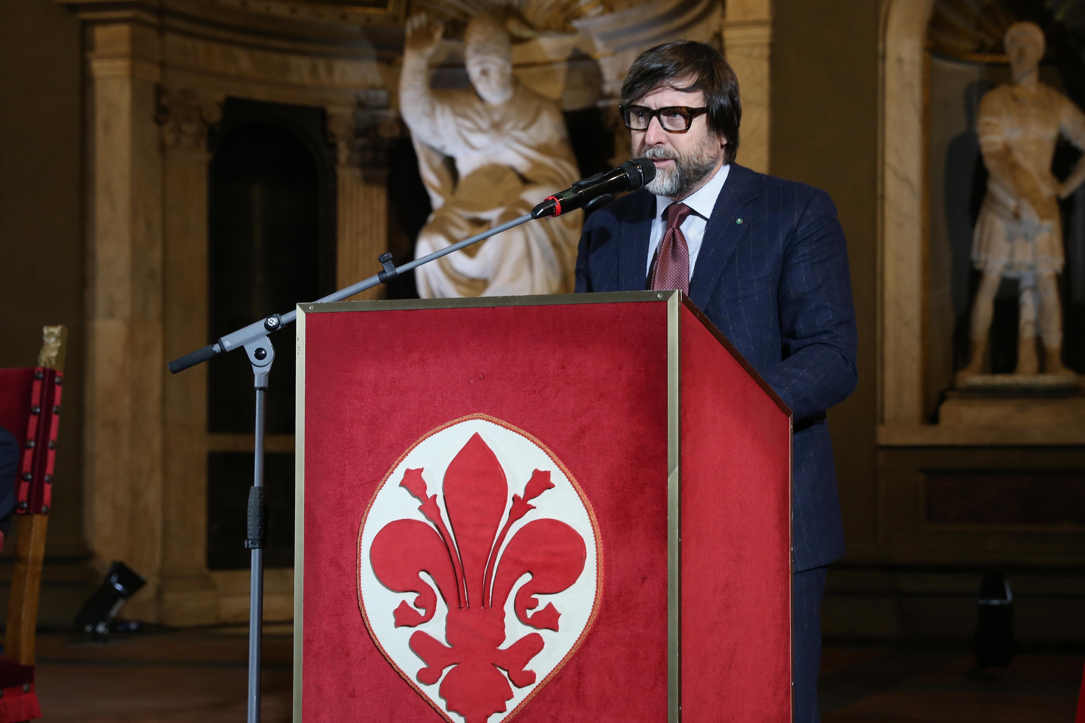 Claudio Marenzi, head of Italy's Confindustria Moda.
