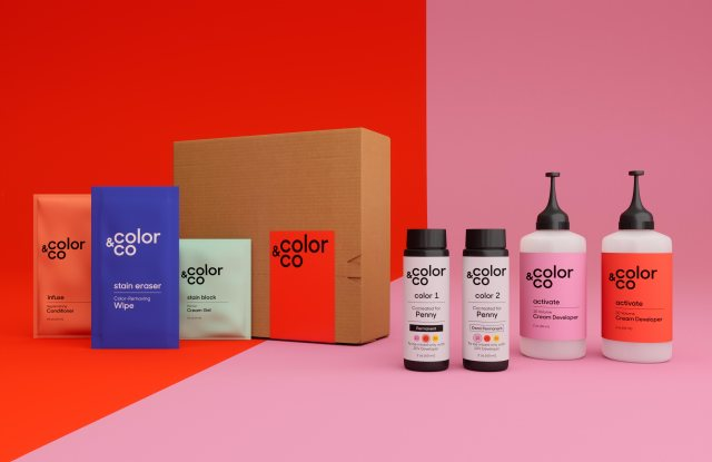 Color & Co aims to take a slice out of the boxed hair-color market.