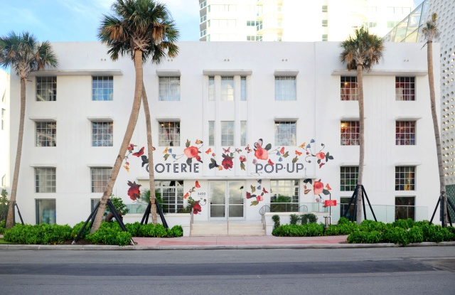 The Coterie pop-up in Miami.