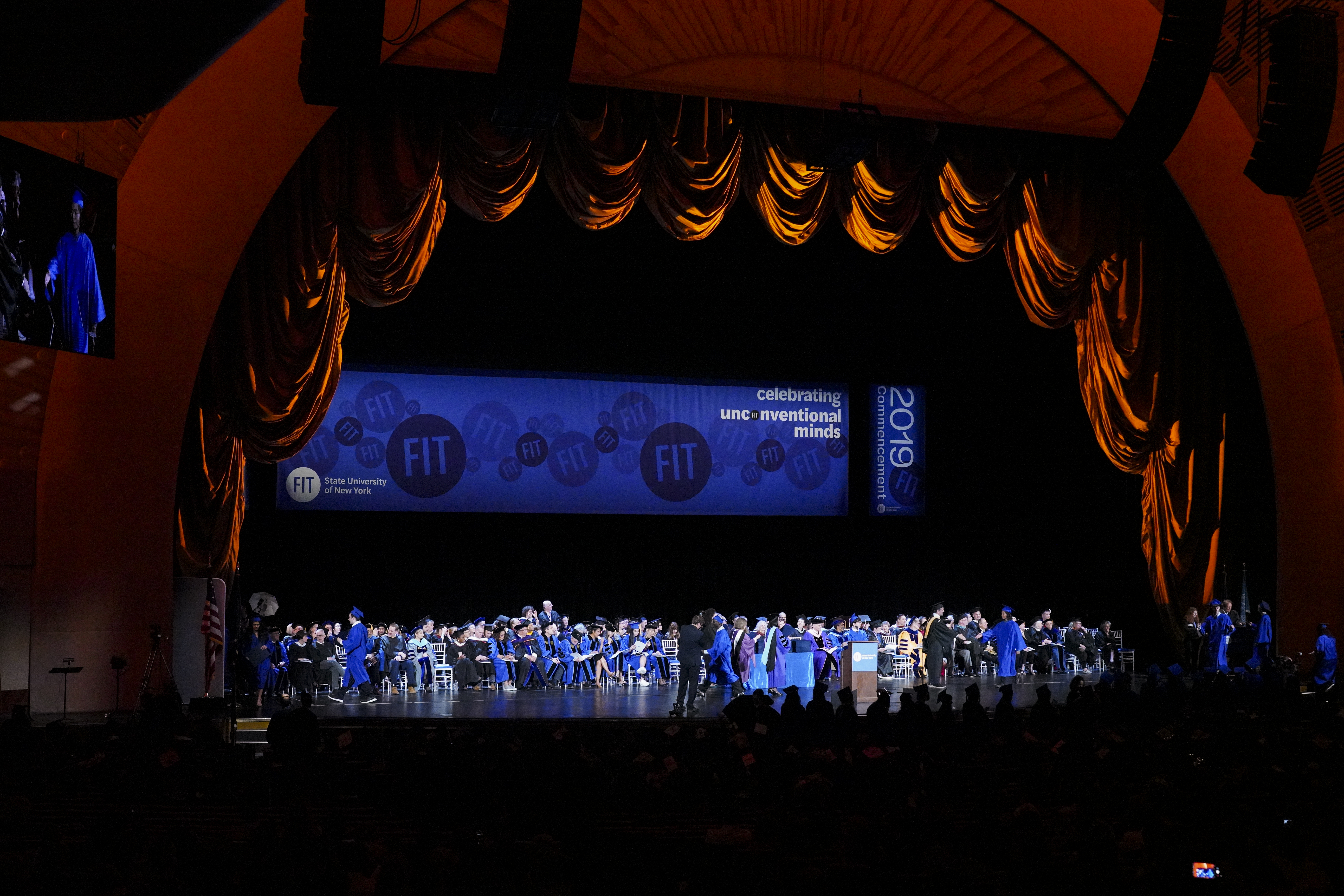 Fashion Institute Of Technology commencement 2019.