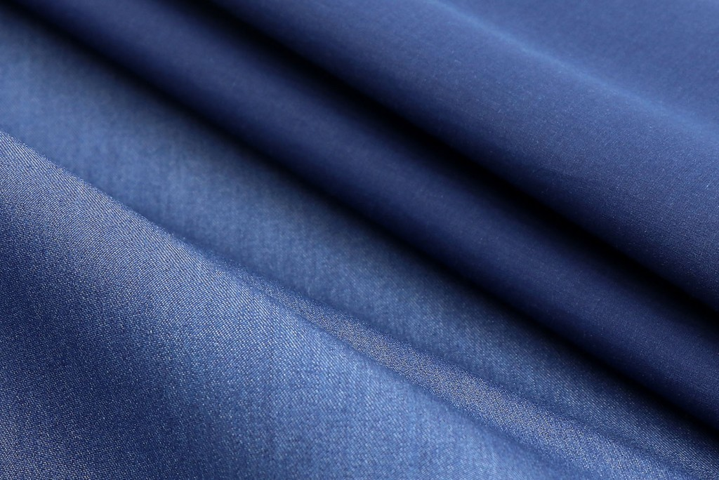 Fabrics from the Albiate 1830 denim collection.