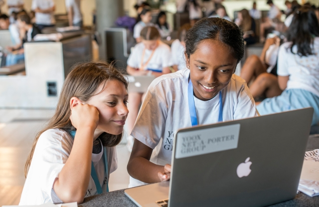 Yoox Net-A-Porter Group promotes digital education among young women.