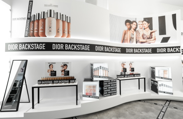 Dior Beauty pop-up on Rodeo Drive