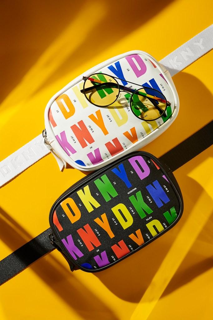 A look from DKNY's summer Pride capsule.