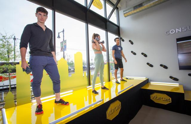 Inside Vibram's new Boston Consumer Experience Center.
