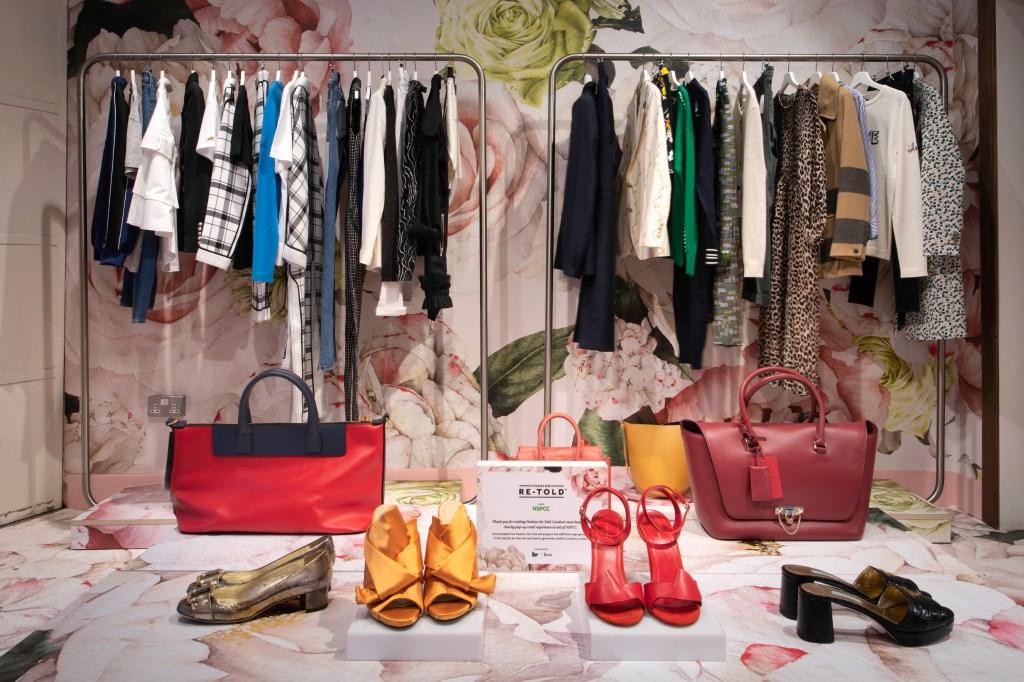 Harrods x NSPCC Fashion Re-Told Pop-up