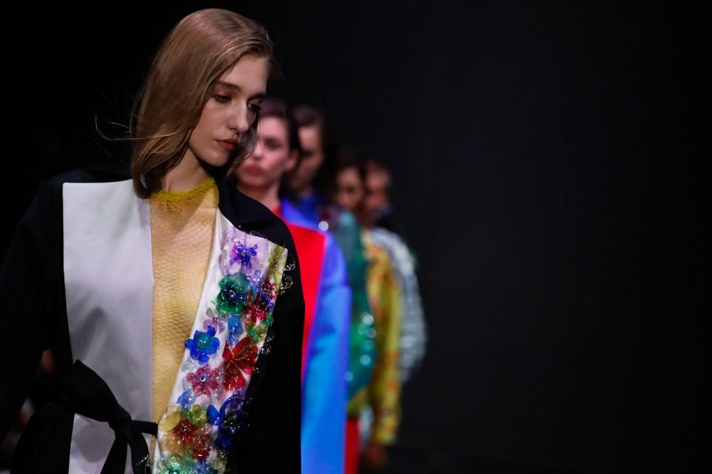 Gilberto Calzolari fall 2019 collection.