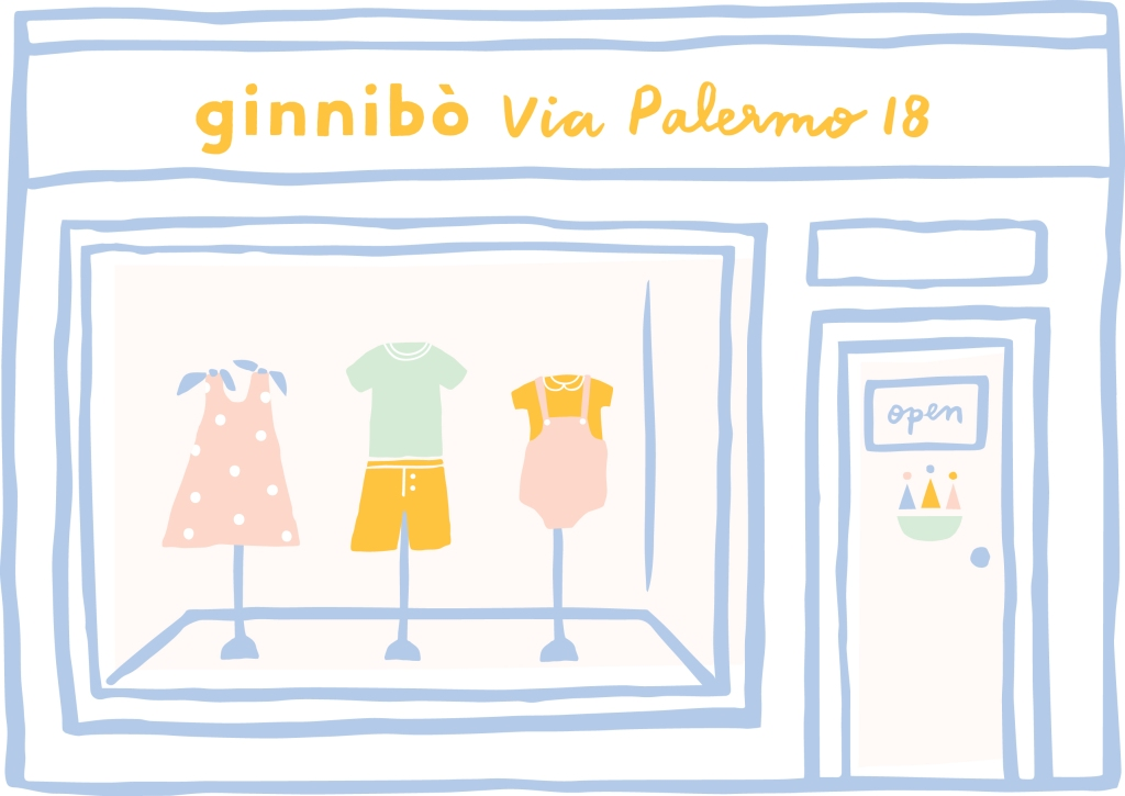 Ginnibò is debuting its first pop-up store on May 13 in Milan