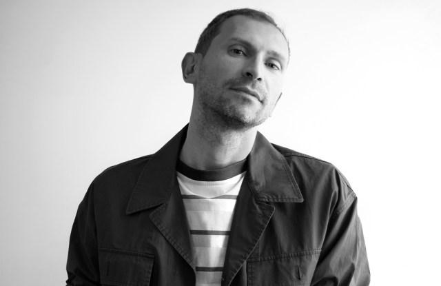 Giuseppe Marretta, men's wear design director of Pringle of Scotland