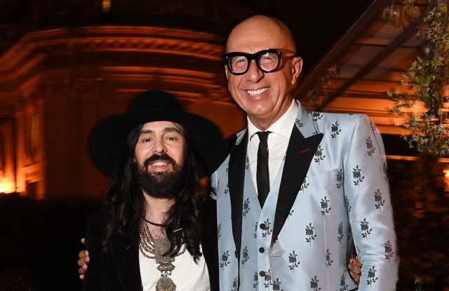Alessandro Michele and Marco Bizzarri