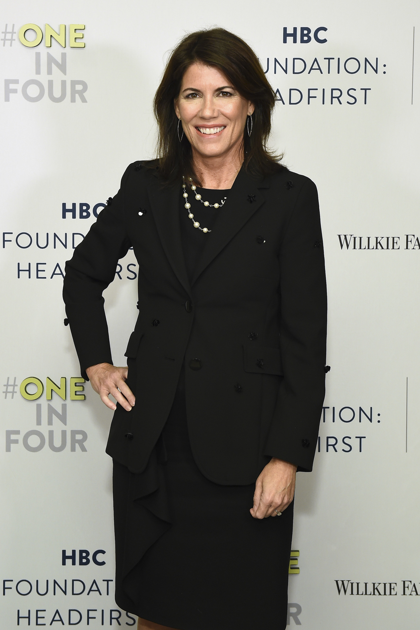 Helena Foulkes at HBC Foundation Fundraiser
