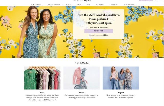 Loft is capitalizing on women's desire to wear new clothing.