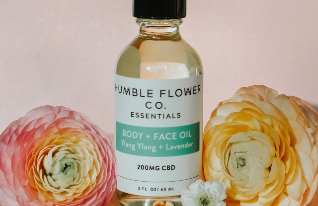 Humble Flower Co. CBD body and face oil