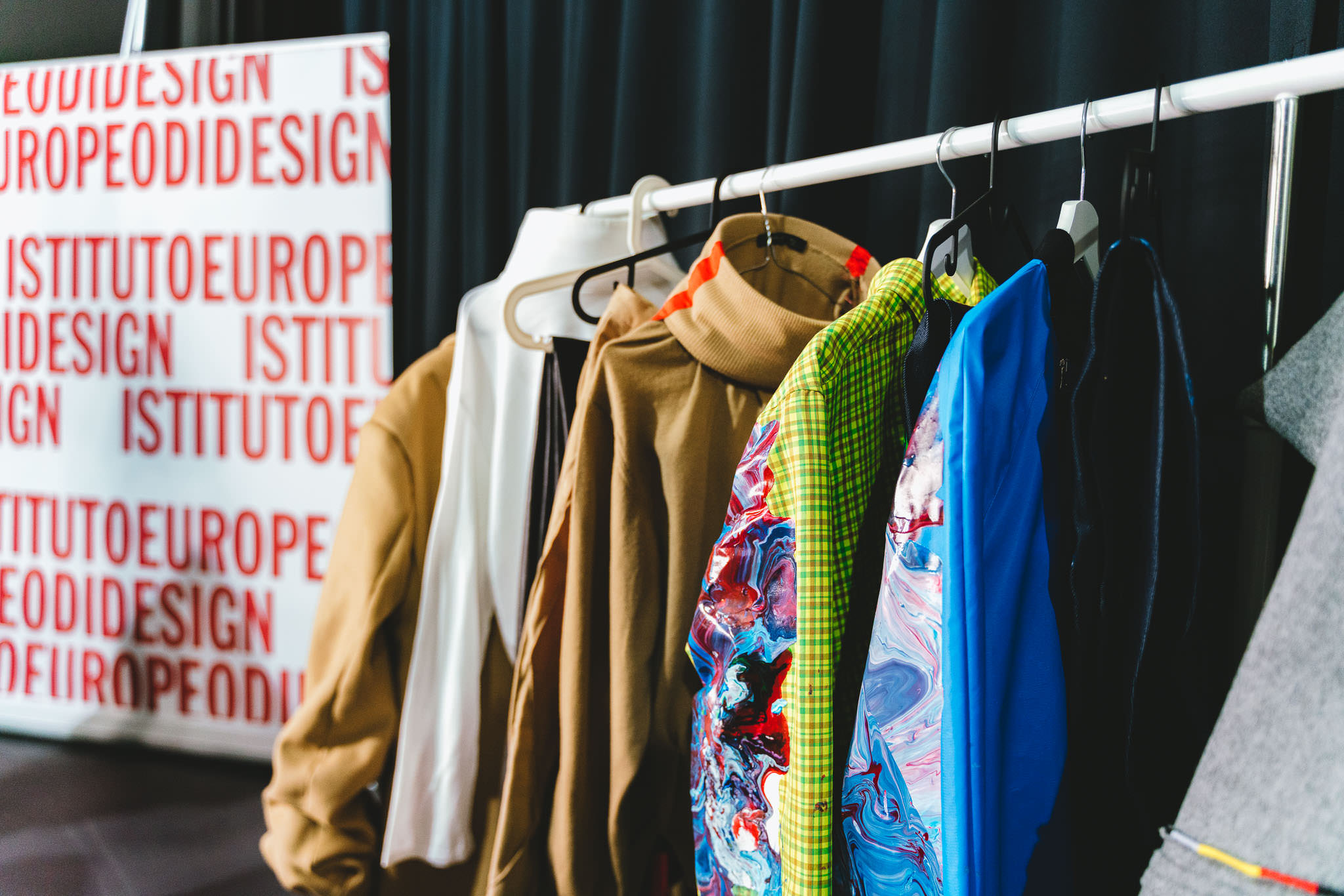 Capsule collection designed by IED students for Pitti Uomo.
