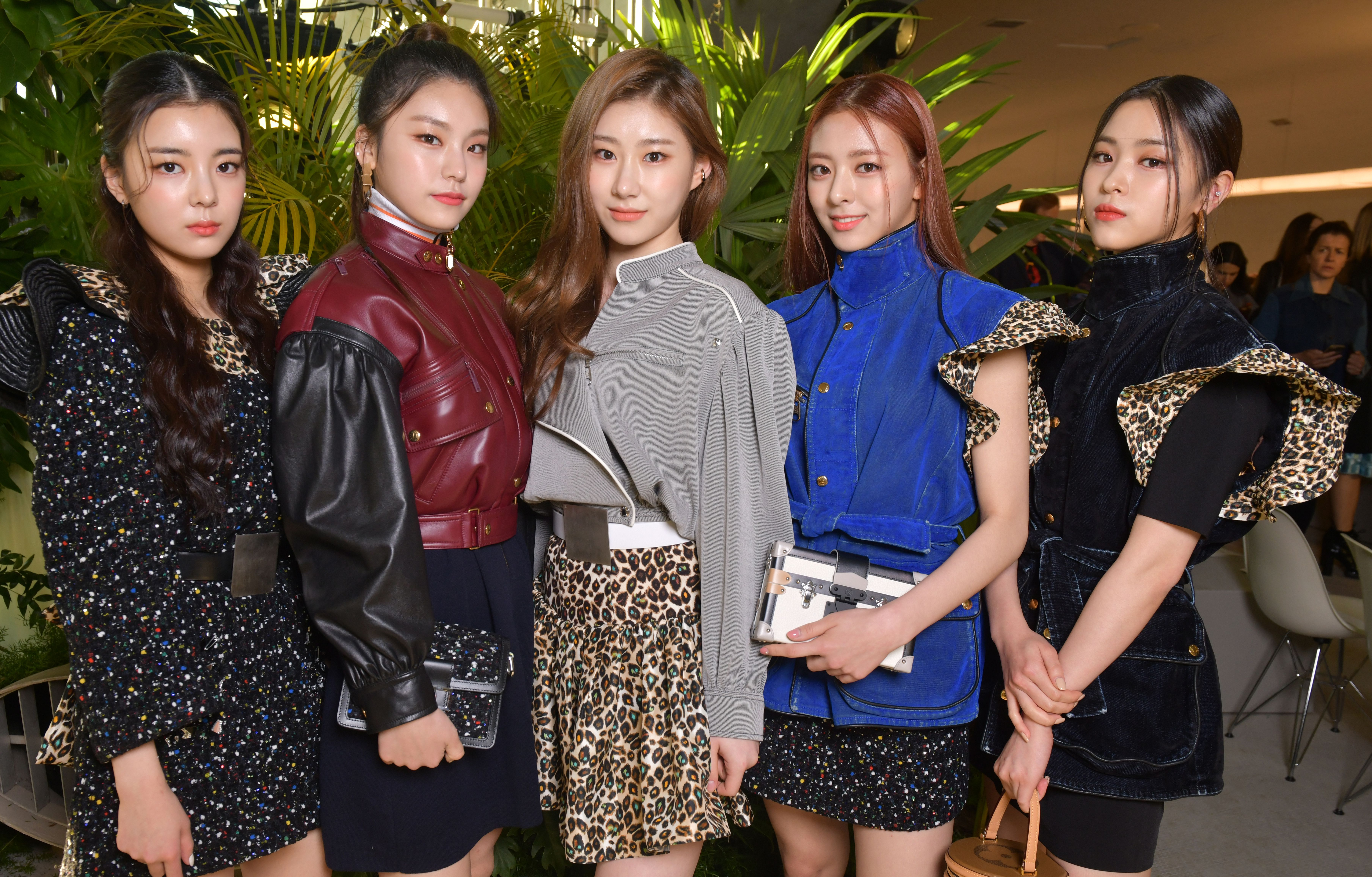 Itzy at the Louis Vuitton Cruise 2020 show.