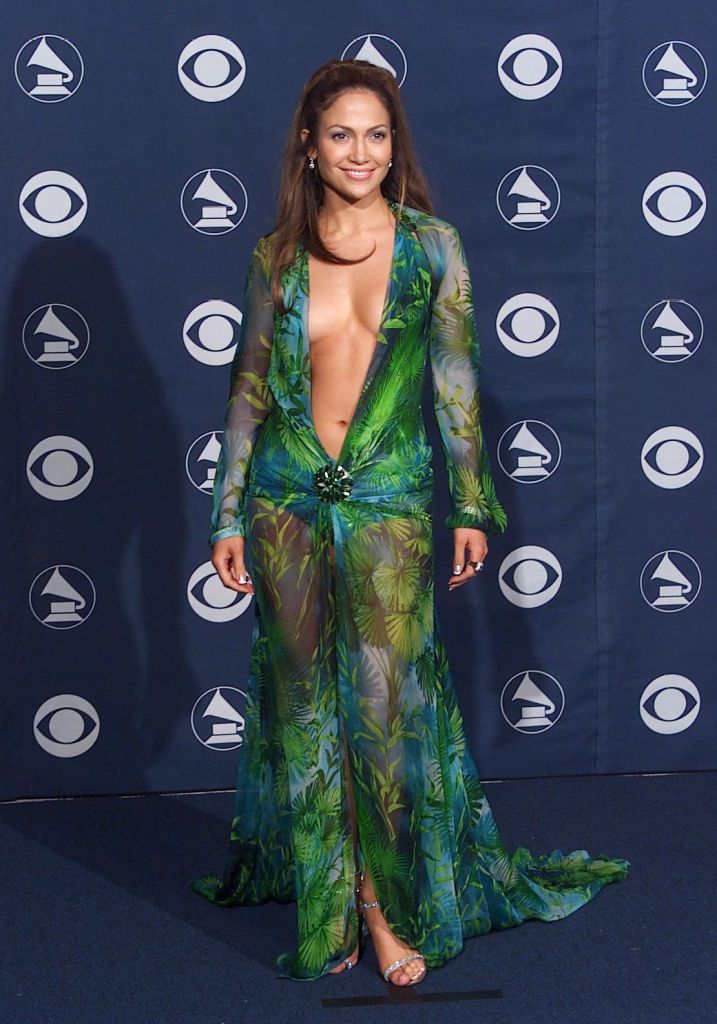 Jennifer Lopez 42ND GRAMMY AWARDS AT THE STAPLES CENTRE, LOS ANGELES, AMERICA - 23 FEB 2000