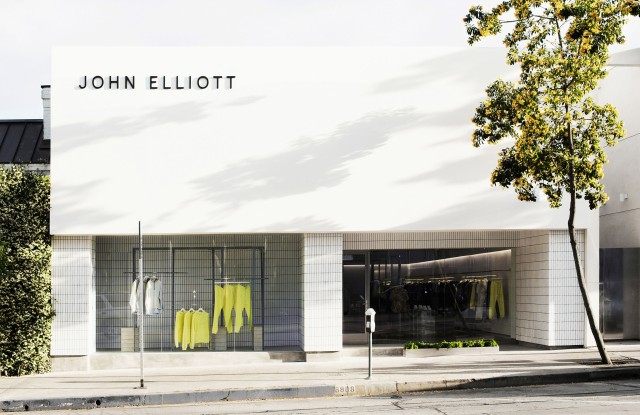 The John Elliott store in L.A.