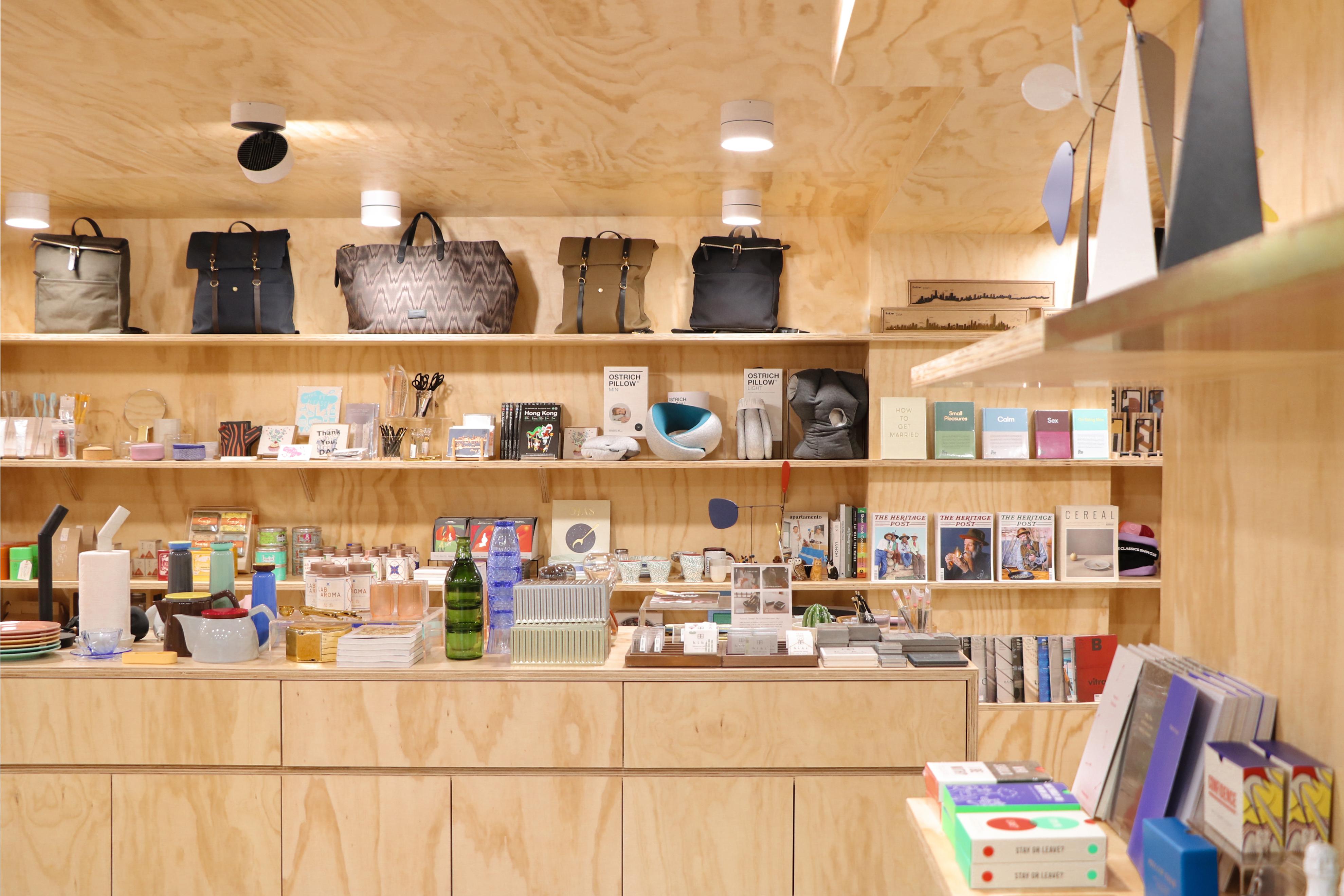 Inside the Kapok store.