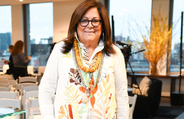 Fern Mallis, the founder of New York Fashion Week and moderator of Thursday night's panel discussion on Unordinary Women.