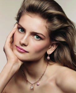 Signe Veiteberg wearing Louis Vuitton's B Blossom jewelry