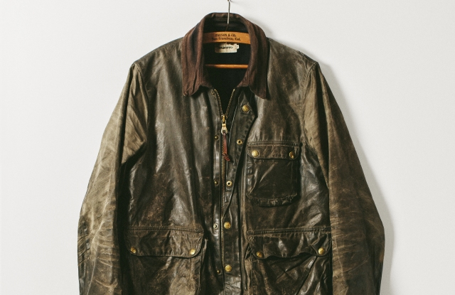 A men's recycled jacket from Taylor Stitch.