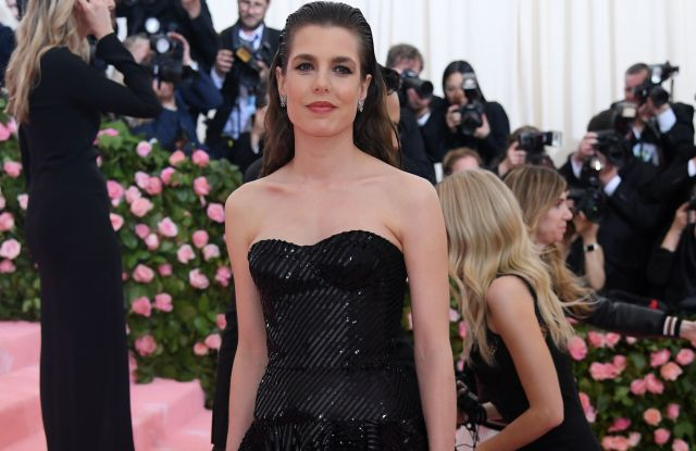 Charlotte Casiraghi in Saint Laurent by Anthony Vaccarello, Met Gala 2019
