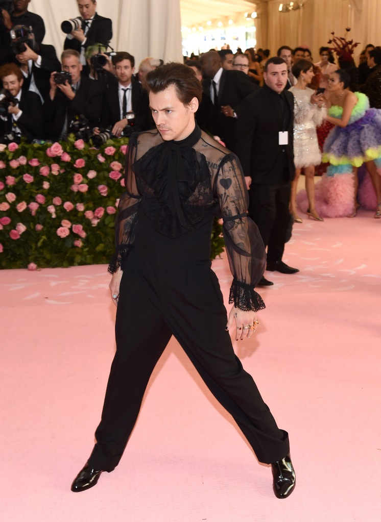 Harry Styles in Gucci, Met Gala 2019